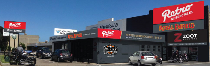 New Shop Front Planned for Retro Motorcycles Adelaide