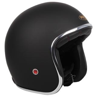 RXT Classic Open Face Matt Black Helmet