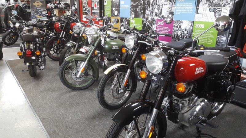 Retro Motorcycles Royal Enfield Motorcycle Showroom