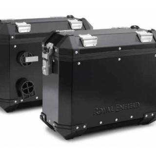 Royal Enfield Black Pannier Kit