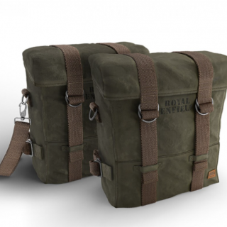 Royal Enfield Military Pannier Olive
